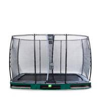 EXIT Elegant Ground trampoline 244x427 cm, Groen