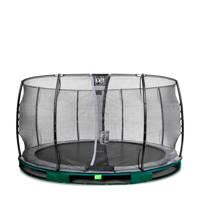 EXIT Elegant Ground trampoline 427 cm, Groen