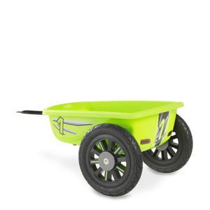 Spider Green en Cheetah skelter aanhangwagen groen