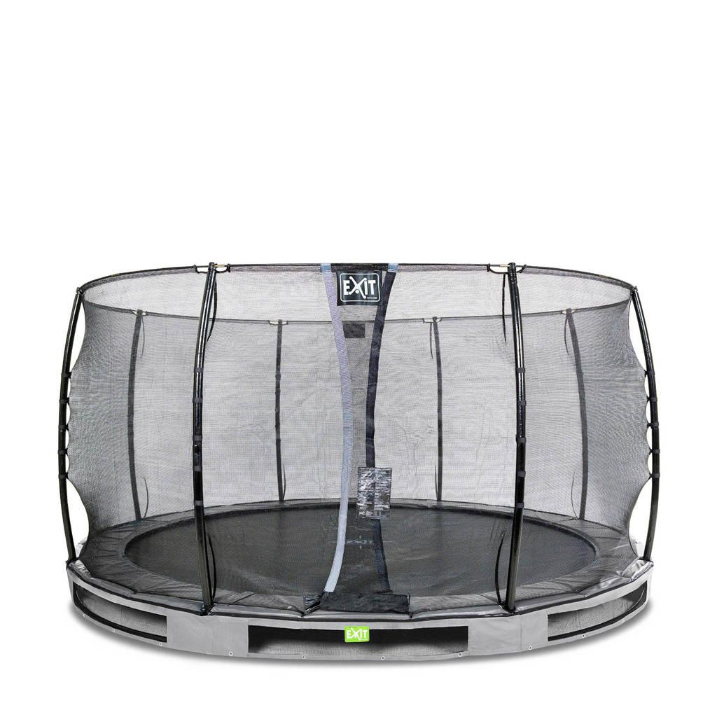 EXIT Elegant Ground trampoline 427 cm, Grijs