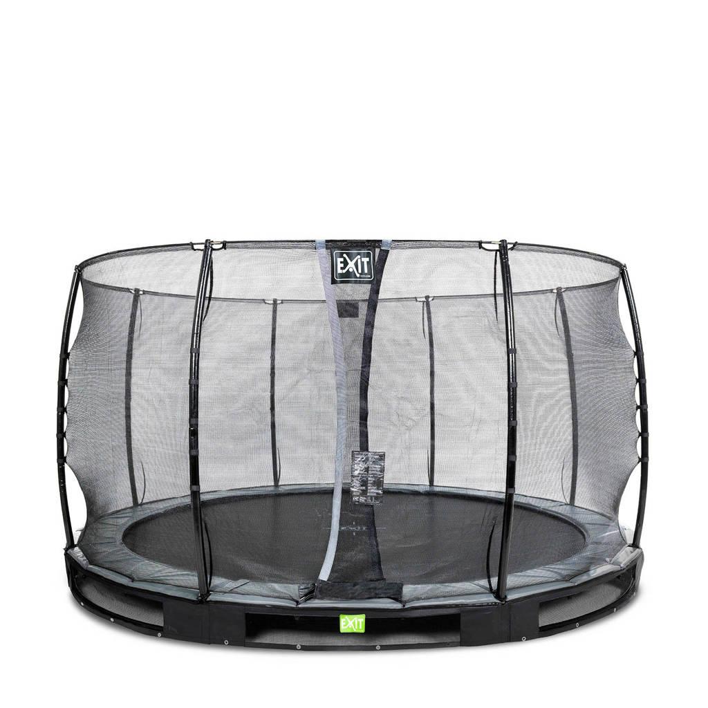 EXIT Elegant Ground trampoline 366 cm, Zwart