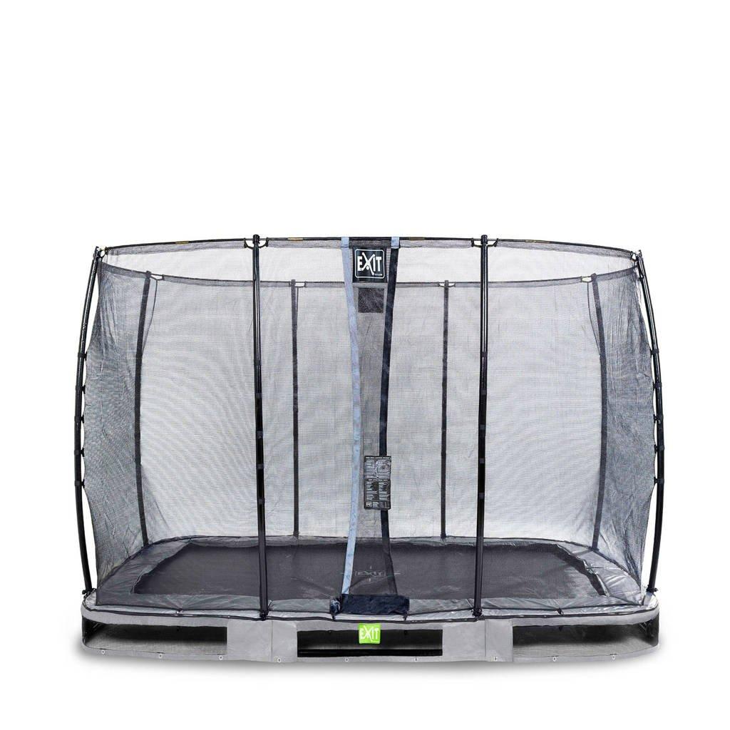 EXIT Elegant Ground trampoline 214x366 cm, Grijs