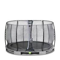 EXIT Elegant Ground trampoline 366 cm, Grijs