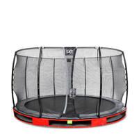 EXIT Elegant Ground trampoline 366 cm, Rood