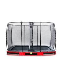 EXIT Elegant Ground trampoline 244x427 cm, Rood