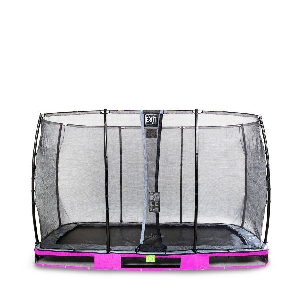 EXIT Elegant Ground trampoline 427x244 cm, Paars