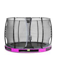 EXIT Elegant Ground trampoline 305 cm, Paars