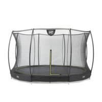 EXIT Silhouette Ground trampoline Ø427 cm, Zwart