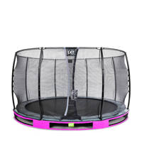 EXIT Elegant Ground trampoline 366 cm, Paars