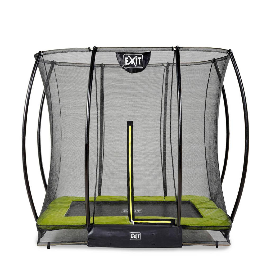 EXIT Silhouette Ground trampoline 153x214 cm, Groen