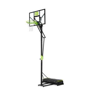 Polestar verplaatsbaar basketbalbord groen/zwart