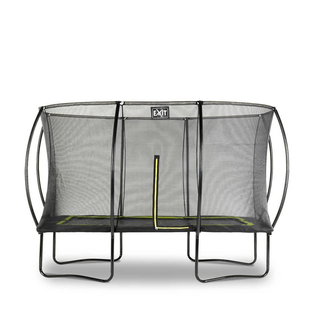 EXIT Silhouette trampoline 244x366 cm, Zwart