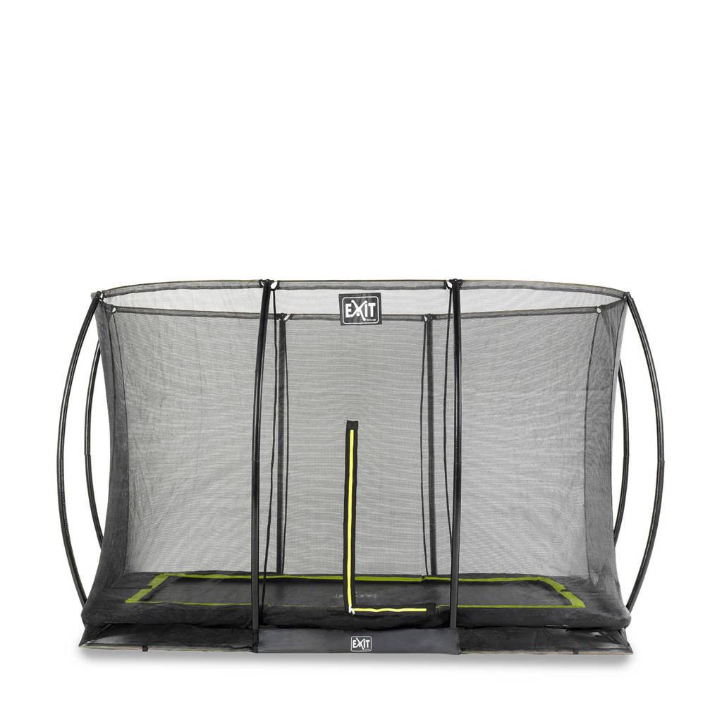 EXIT Silhouette Ground trampoline 244x366 cm, Zwart