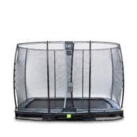 EXIT Elegant Ground trampoline 214x366 cm, Zwart
