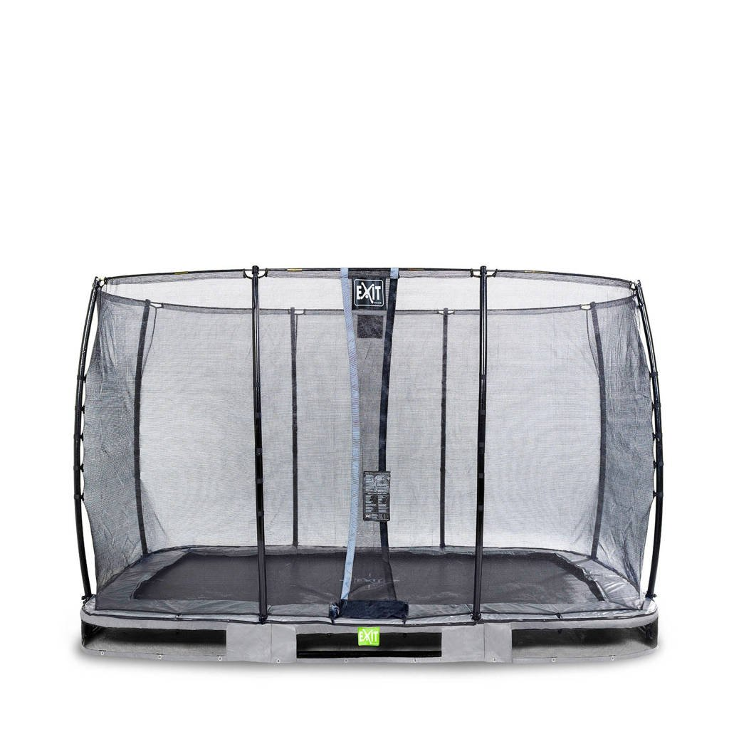 EXIT Elegant Ground trampoline 244x427 cm, Grijs