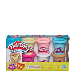 Confetti Doh 6 Pack