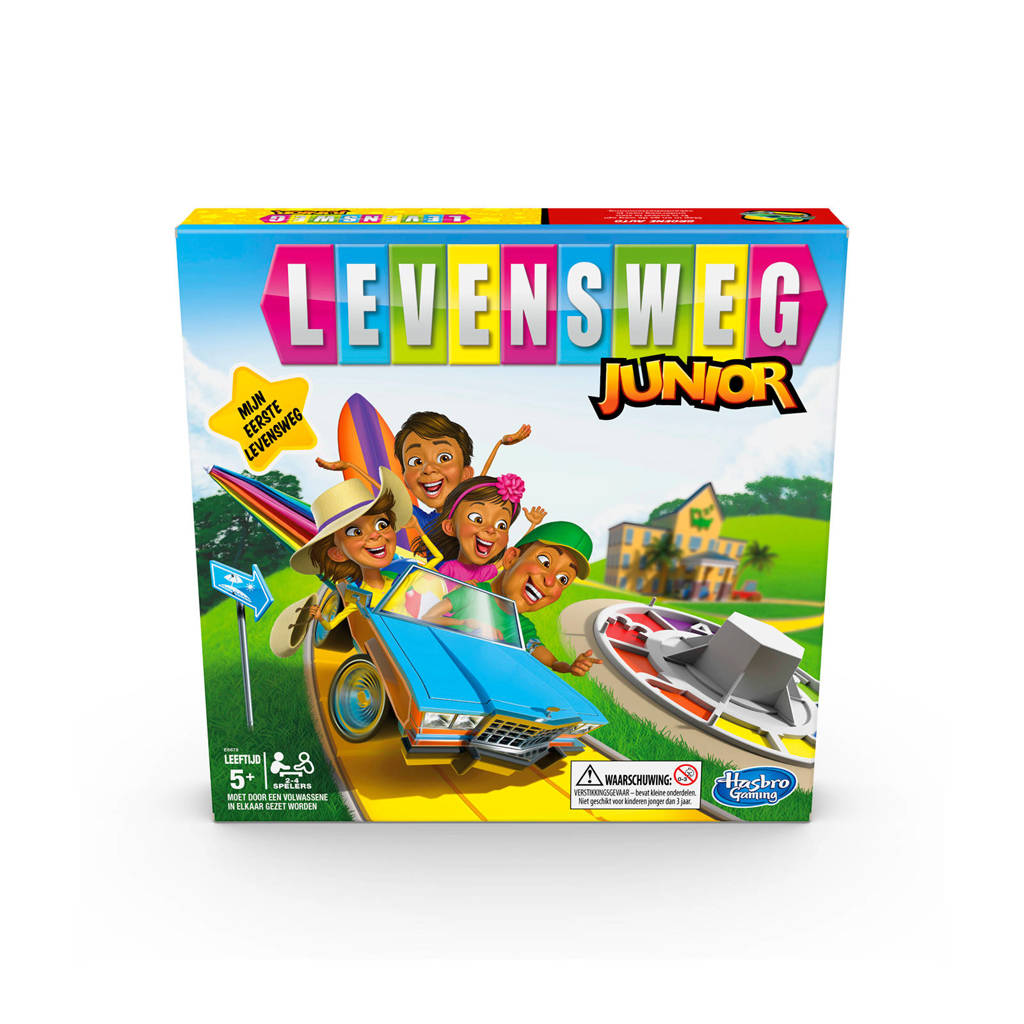 Hasbro Gaming Levensweg Junior bordspel