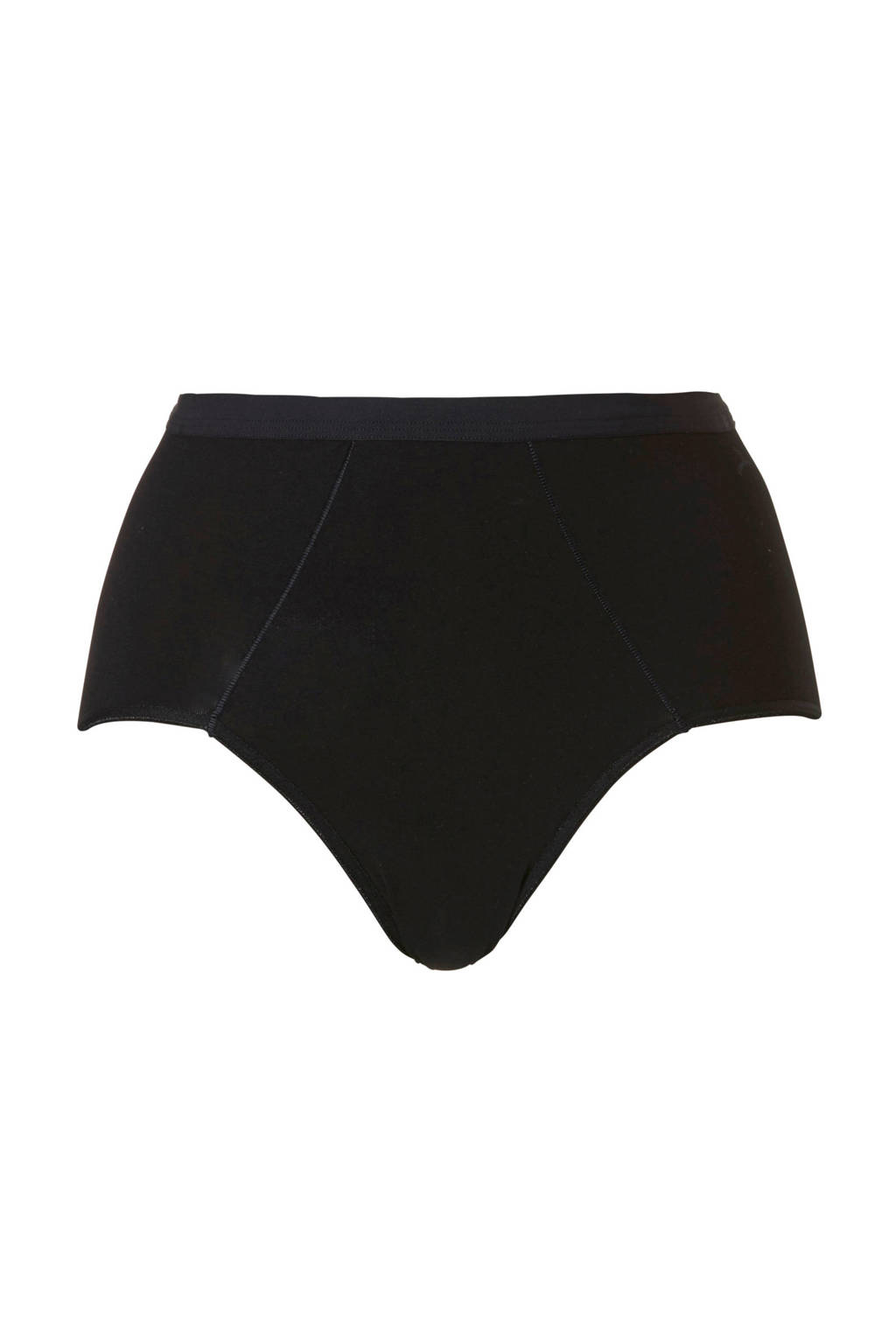 ten Cate Cotton Contour corrigerende slip zwart, Zwart