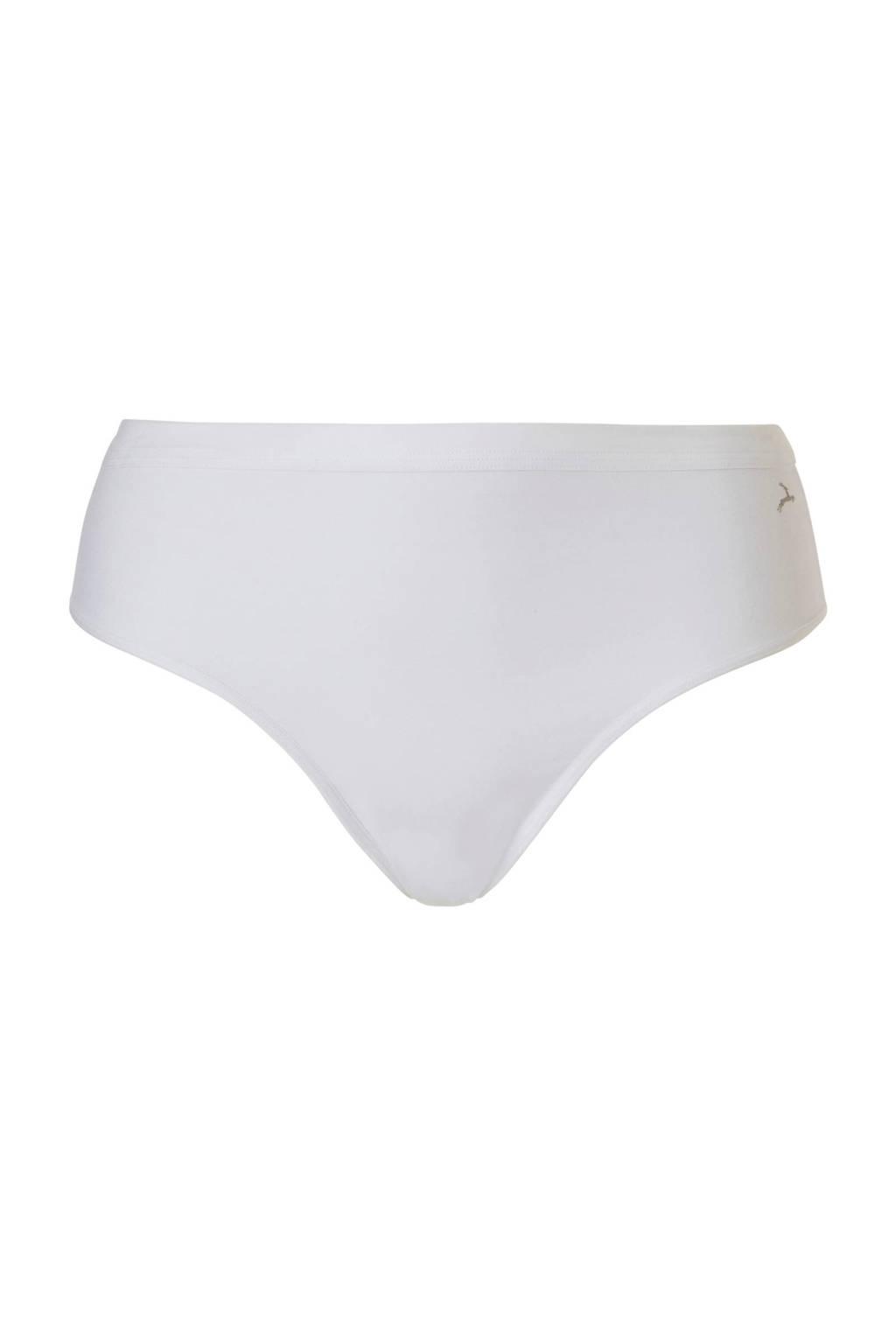 ten Cate Cotton Contour corrigerende string wit, Wit