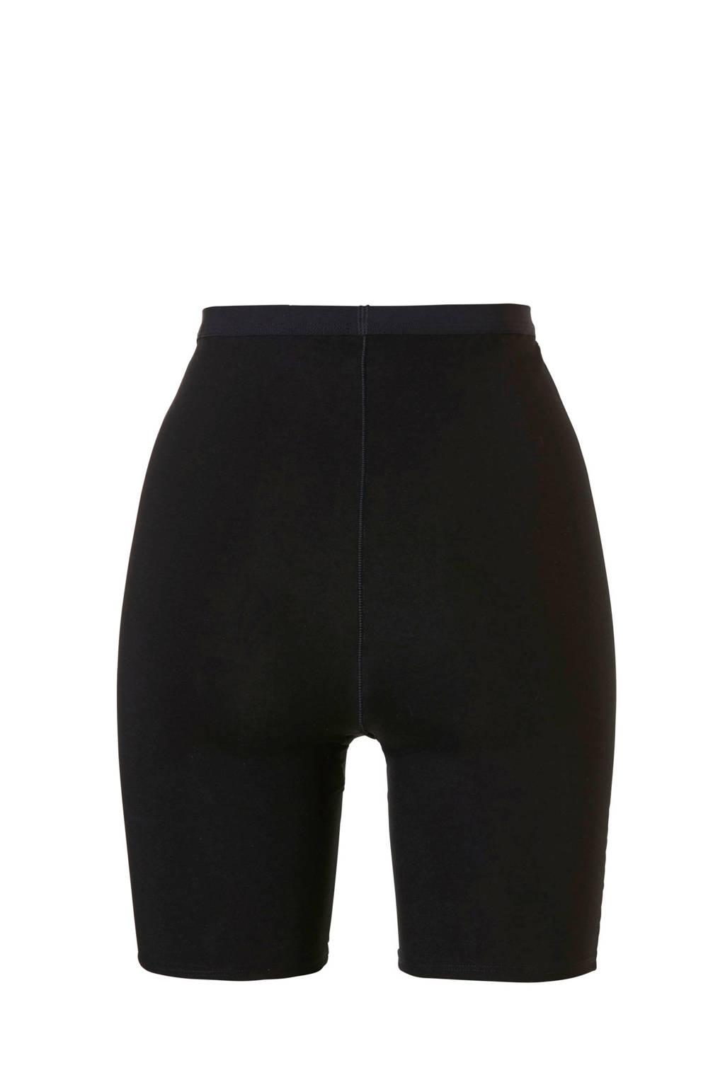 ten Cate Cotton Contour corrigerende short zwart, Zwart