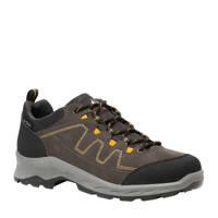 Scapino Mountain Peak   leren wandelschoenen bruin/grijs, Grijs/bruin