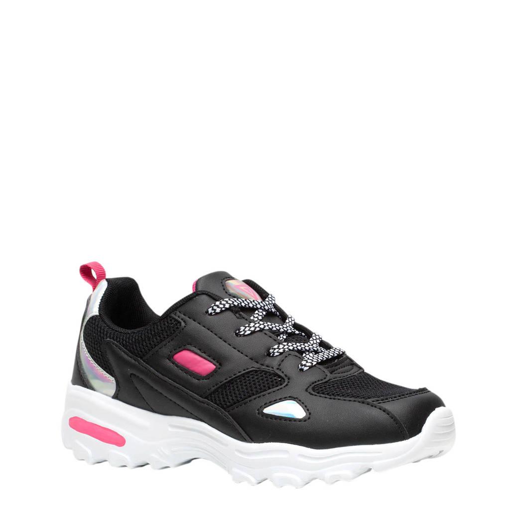 Scapino Osaga   sportschoenen zwart/roze, Zwart