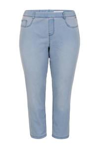 Miss Etam Plus skinny tregging blauw, Blauw