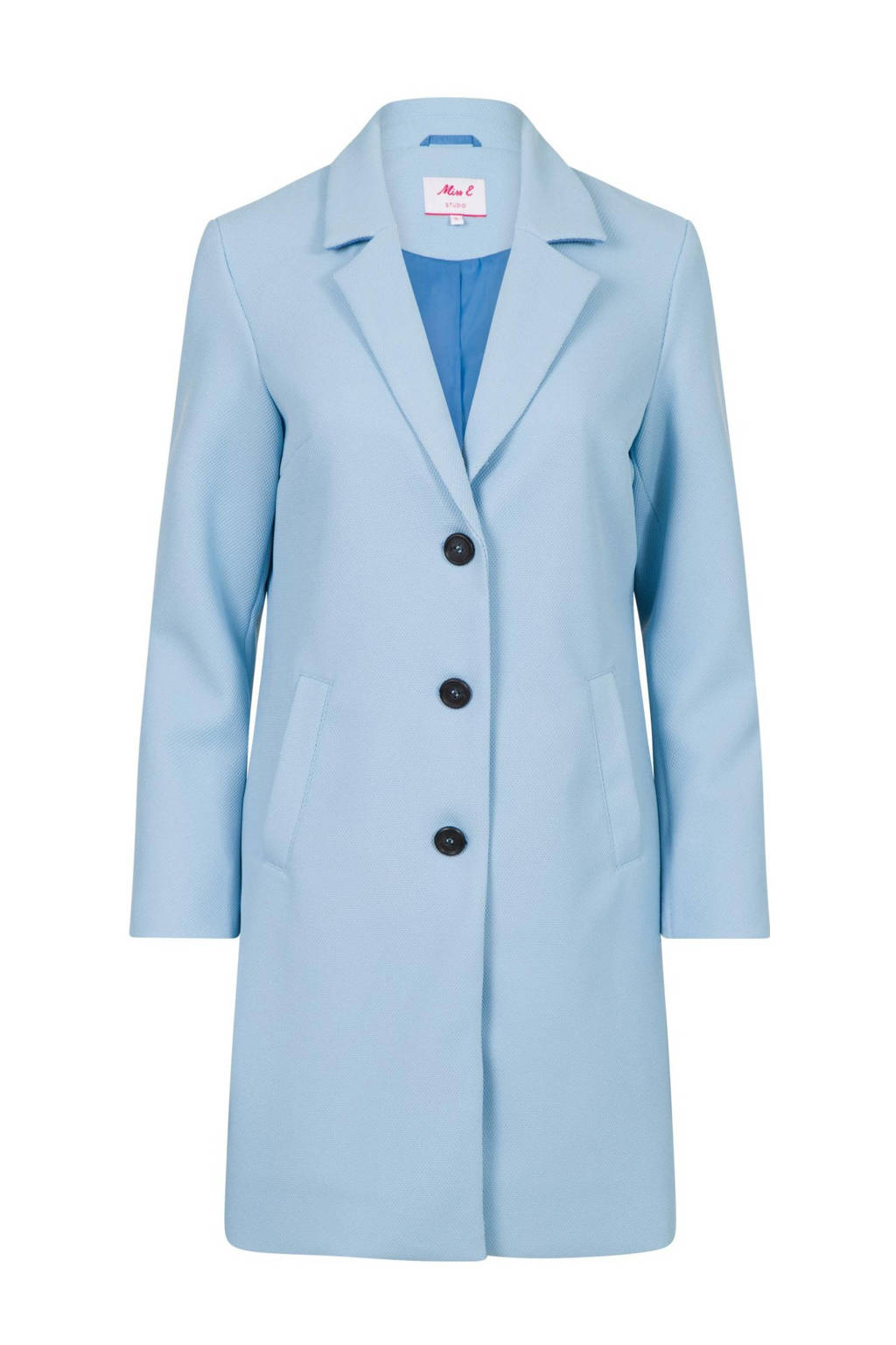 Miss Etam Regulier coat blauw, Blauw