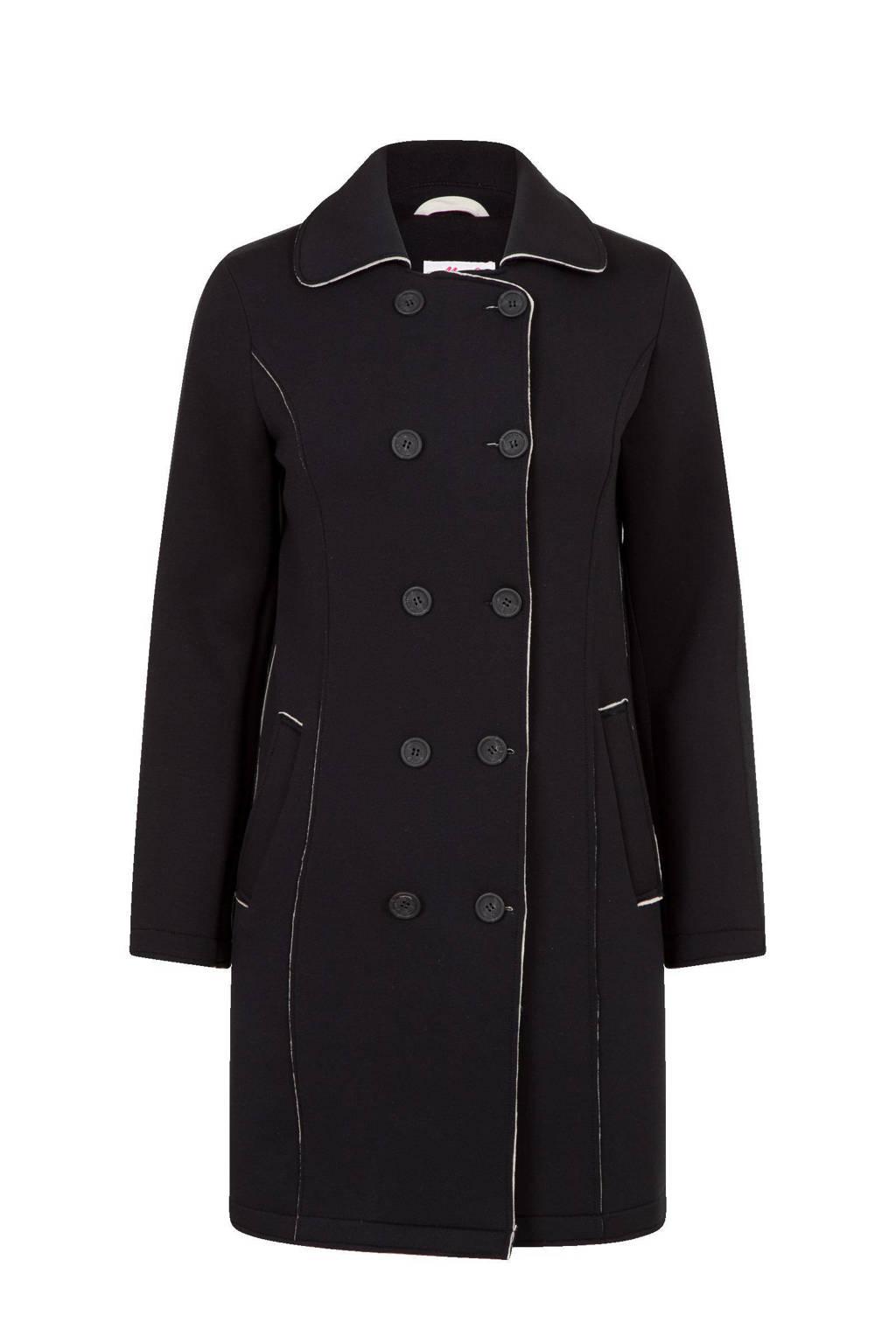 Miss Etam Regulier coat zwart, Zwart
