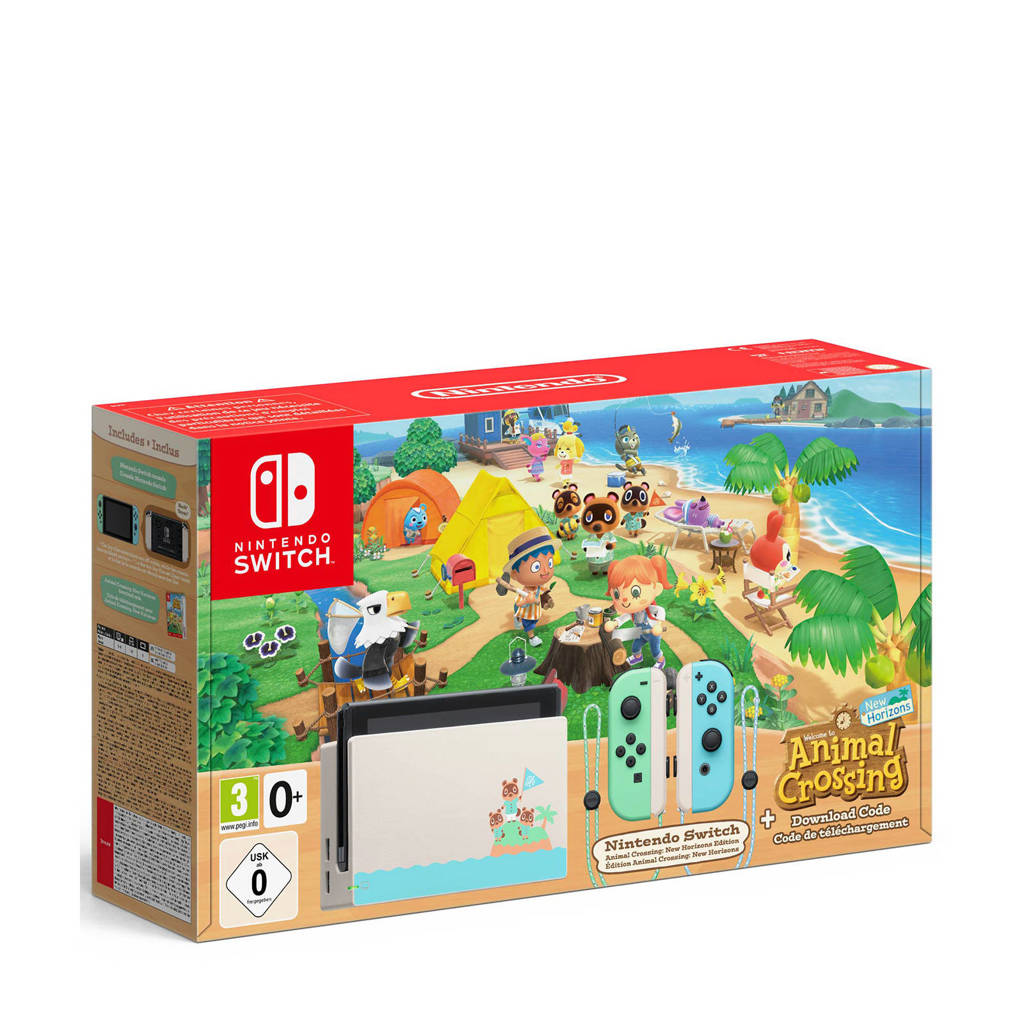 Nintendo Switch Animal Crossing: New Horizons Editie, N.v.t.