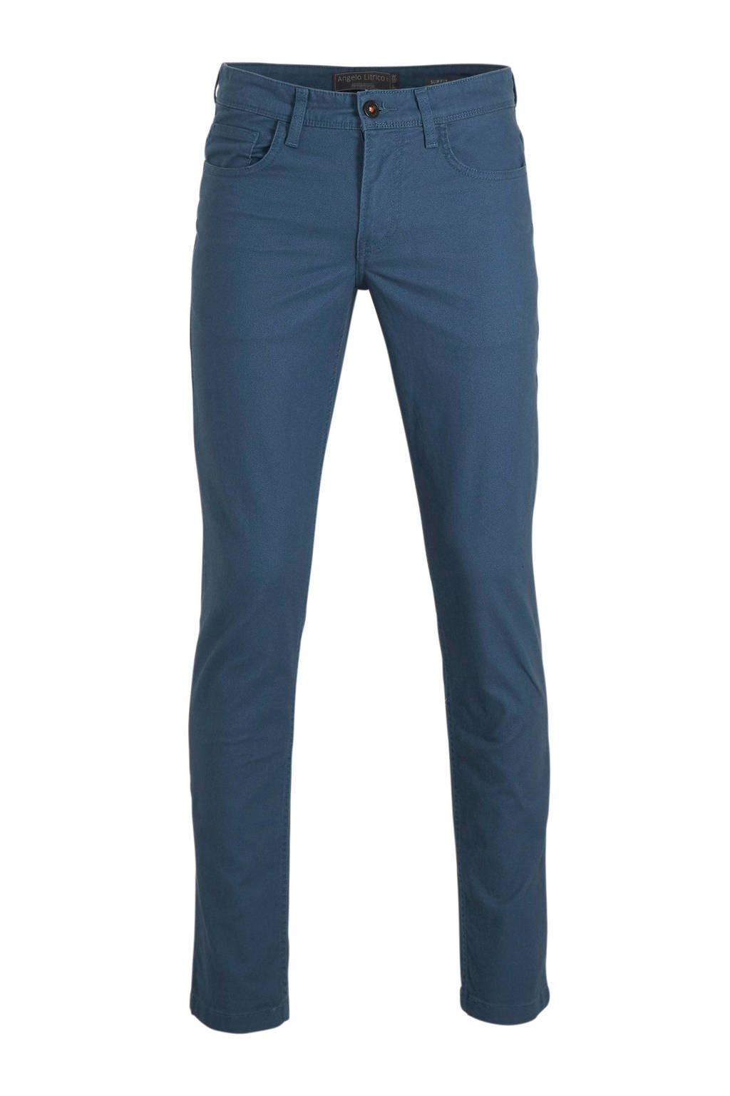 C&A Angelo Litrico slim fit jeans petrol, Petrol