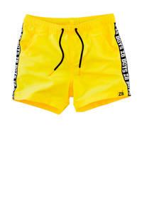 Z8 short Michael geel/wit/zwart, Geel/zwart/wit