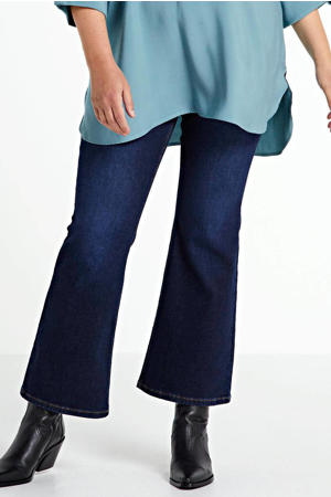 high waist bootcut jeans Ellen dark denim