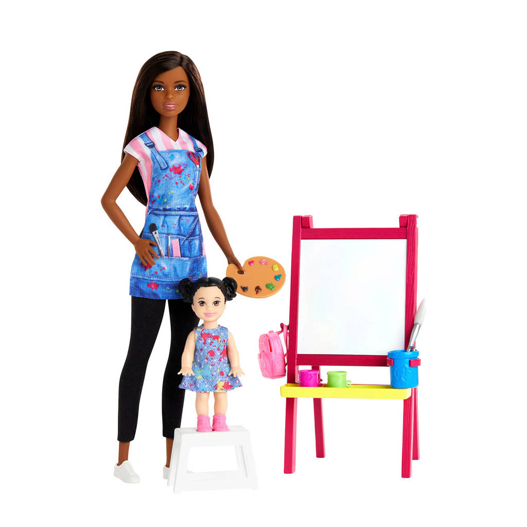 Barbie Kunstlerares speelset