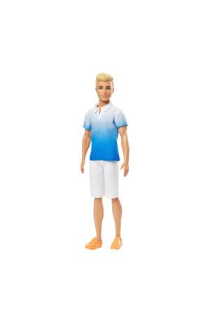Ken Fashionistas blauw shirt