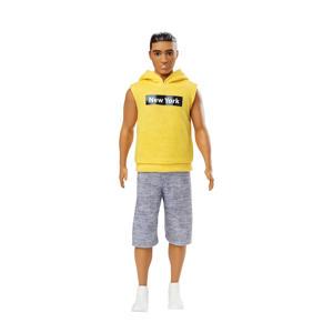 Ken Fashionistas gele hoodie