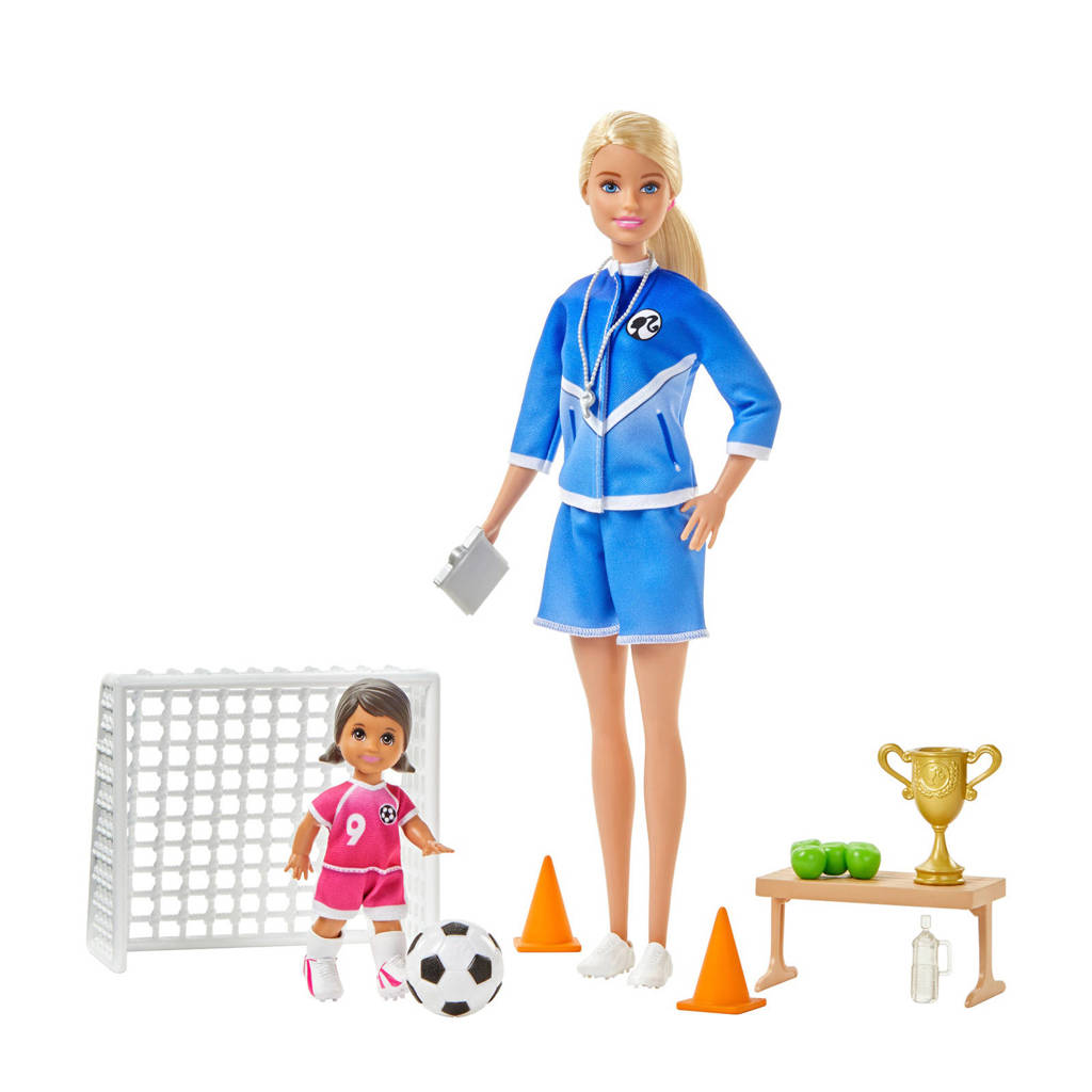 Barbie voetbalcoach