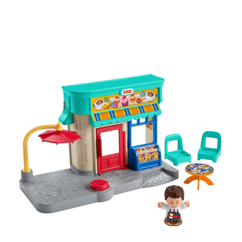 Fisher-Price Little People houten Little People bakkerspeelset