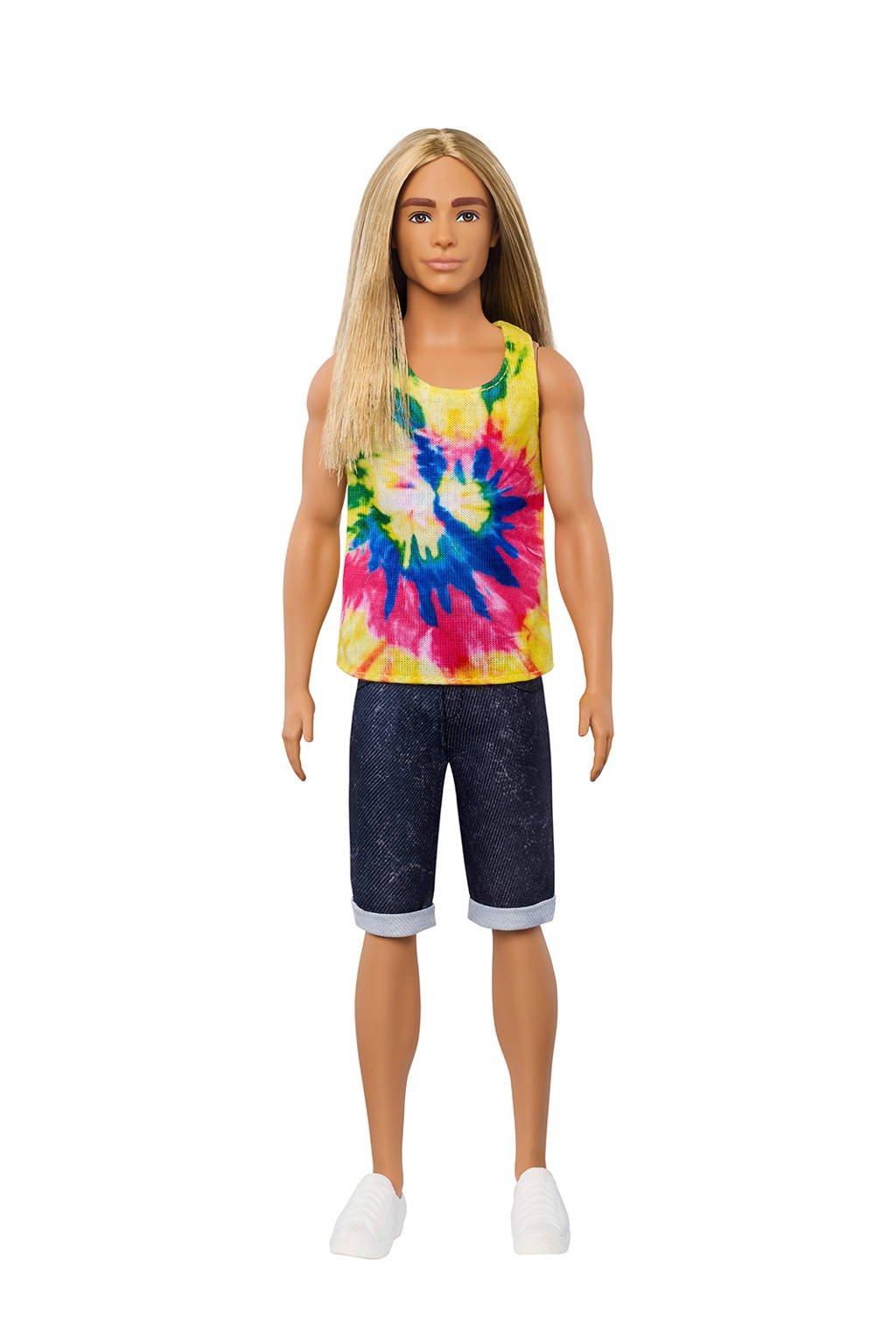 Barbie Ken Fashionistas lange haren