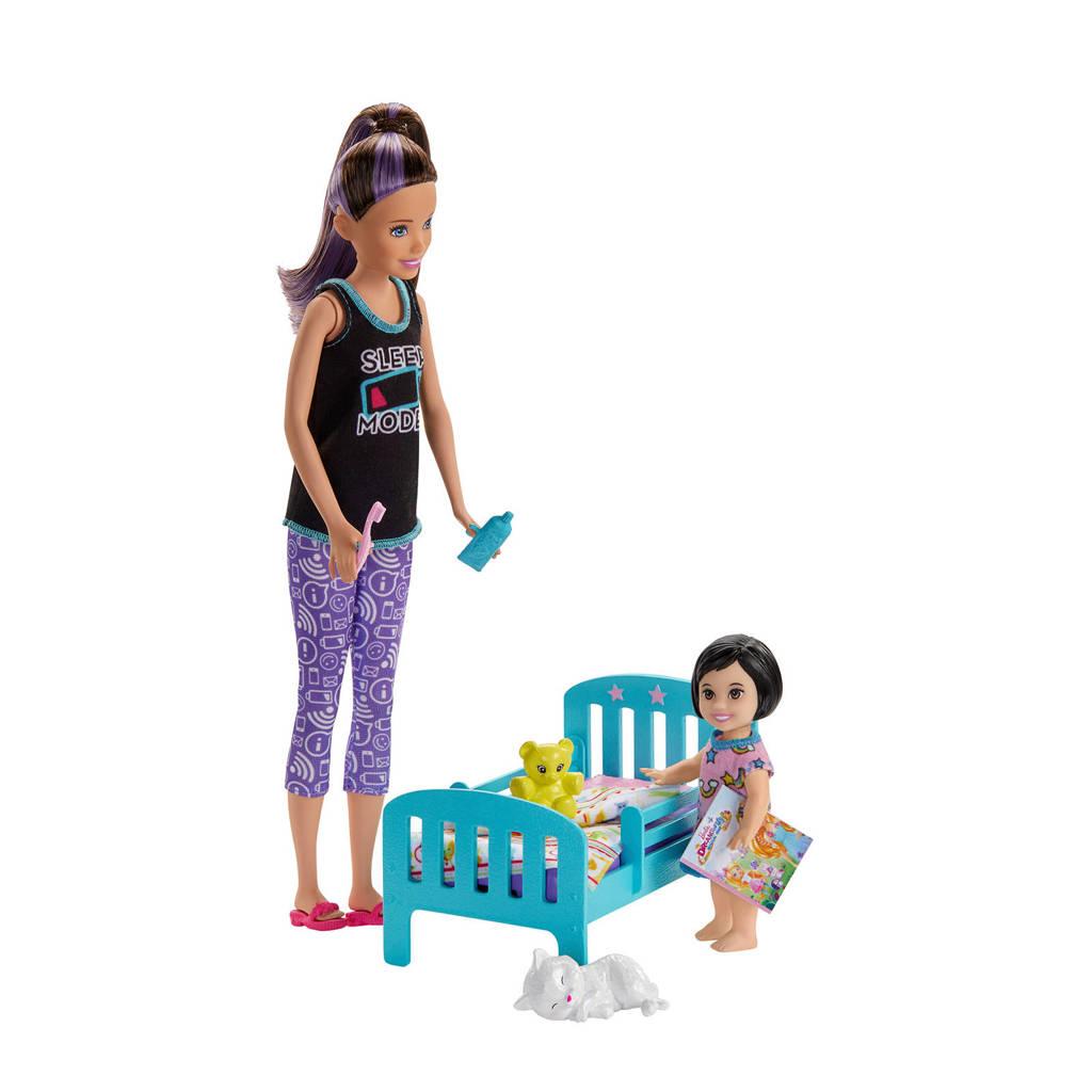 Barbie Barbie Skipper Babysitter speelset bedtijd