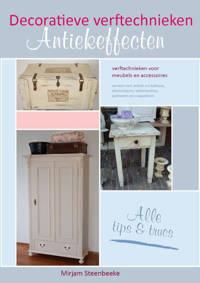 Decoratieve verftechnieken - M. Steenbeeke