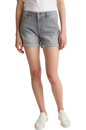 jeans short grijs