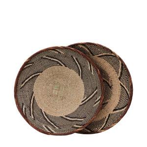 decoratieschaal Tonga (Ø30 cm)