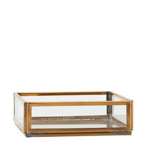 displaybox Brass (10x10 cm)