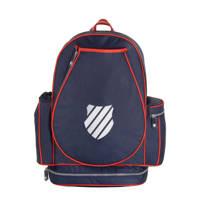 K-Swiss   rugzak donkerblauw/rood, Donkerblauw/rood