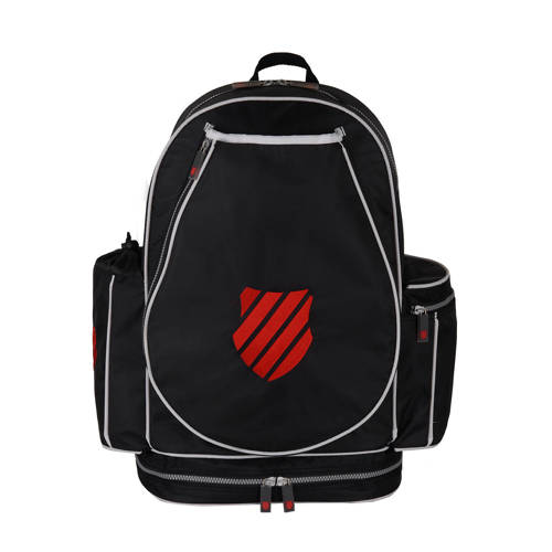 K-Swiss rugzak zwart/rood