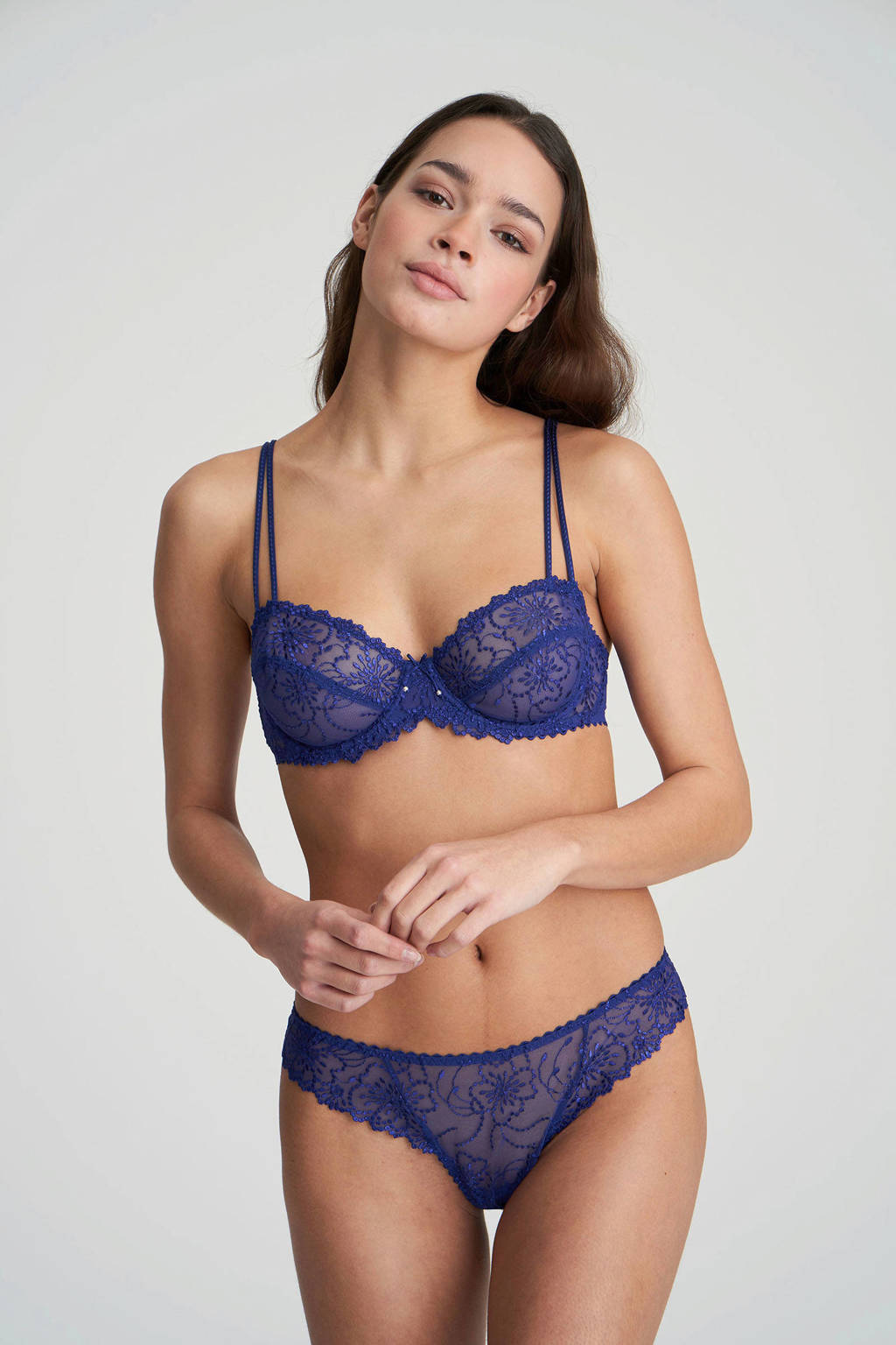 Marie Jo string Jane kobaltblauw, Kobaltblauw