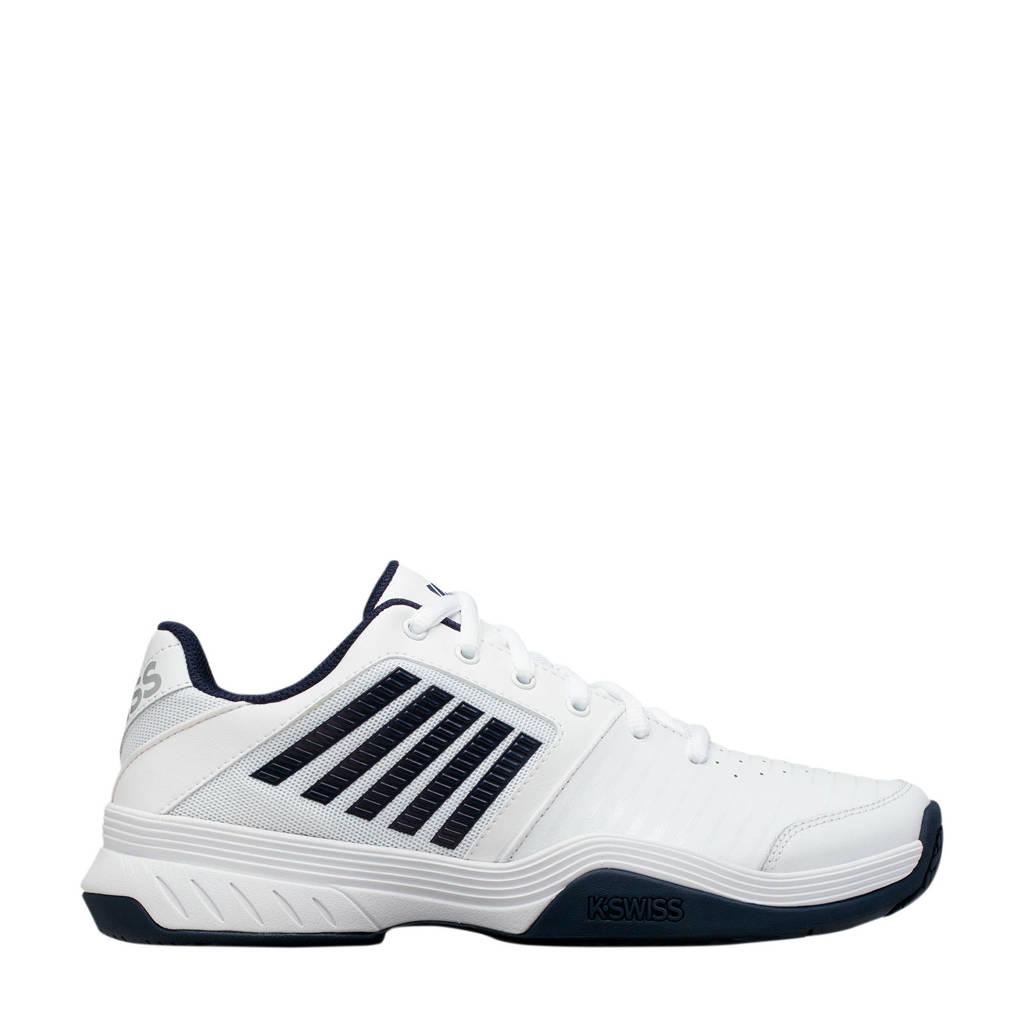 K-Swiss Court Express hb tennisschoenen wit/donkerblauw, Wit/donkerblauw