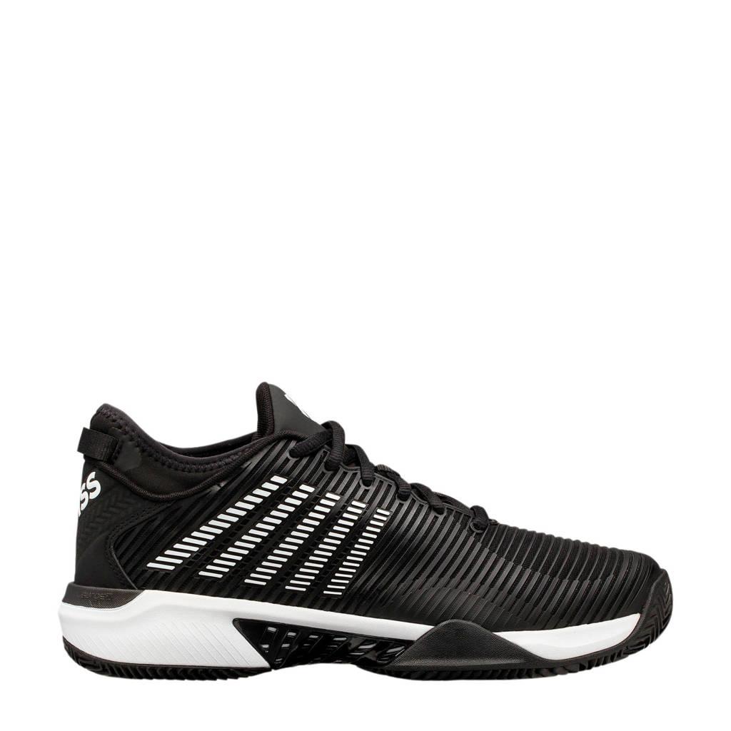 K-Swiss Hypercourt Supreme hb tennisschoenen zwart/wit, Zwart/wit
