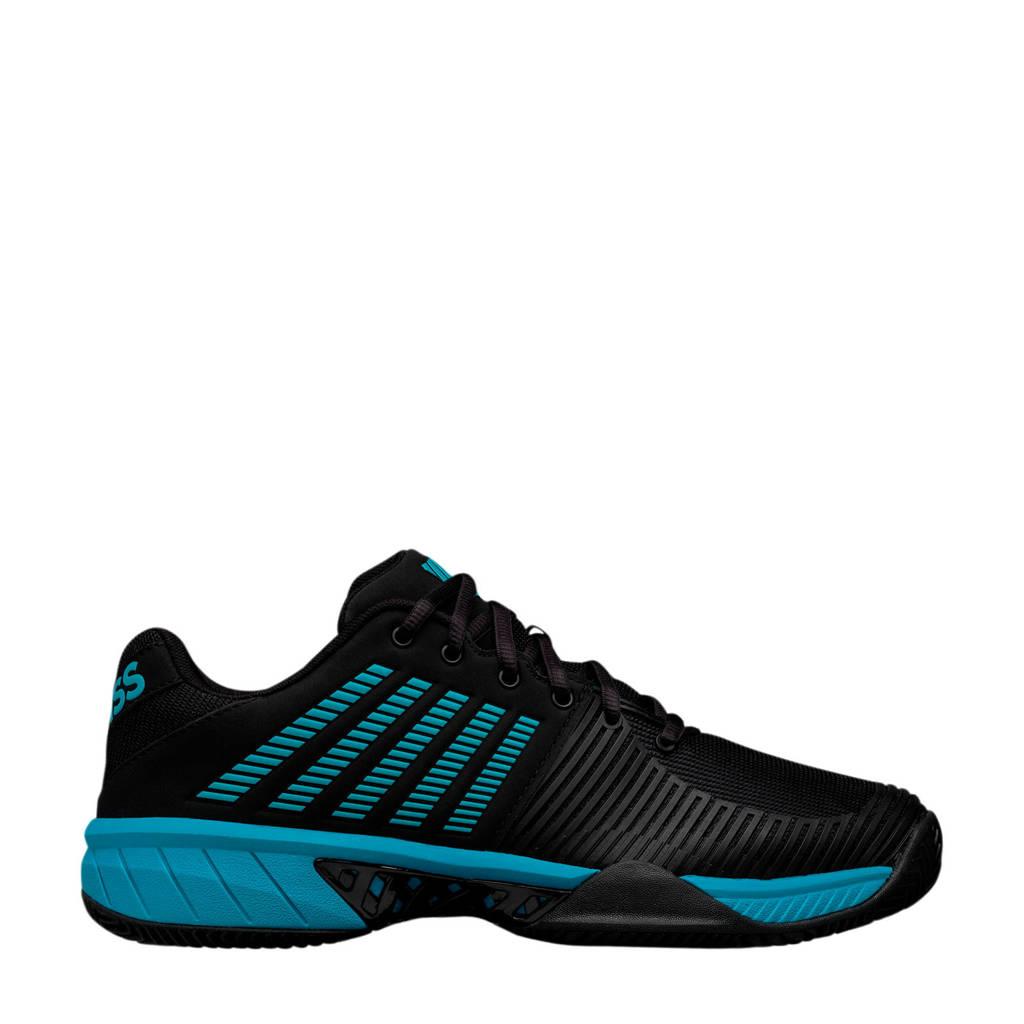 K-Swiss Express Light 2 hb tennisschoenen zwart/blauw, Zwart/blauw